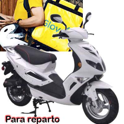 Alquiler de motos scooter para repartidores